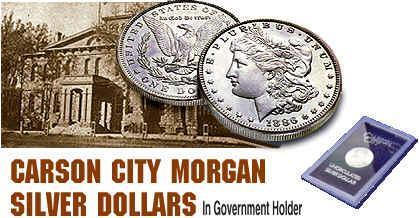 Carson City Morgan Silver Dollar