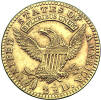1821 Capped Bust Quarter Eagle Reverse