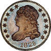 Obverse of 1825 Dime